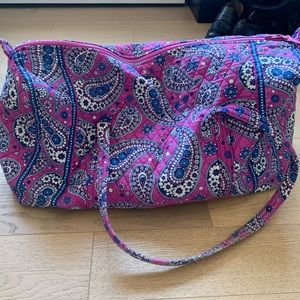 Vera Bradley Signature Large Travel Duffel Bag